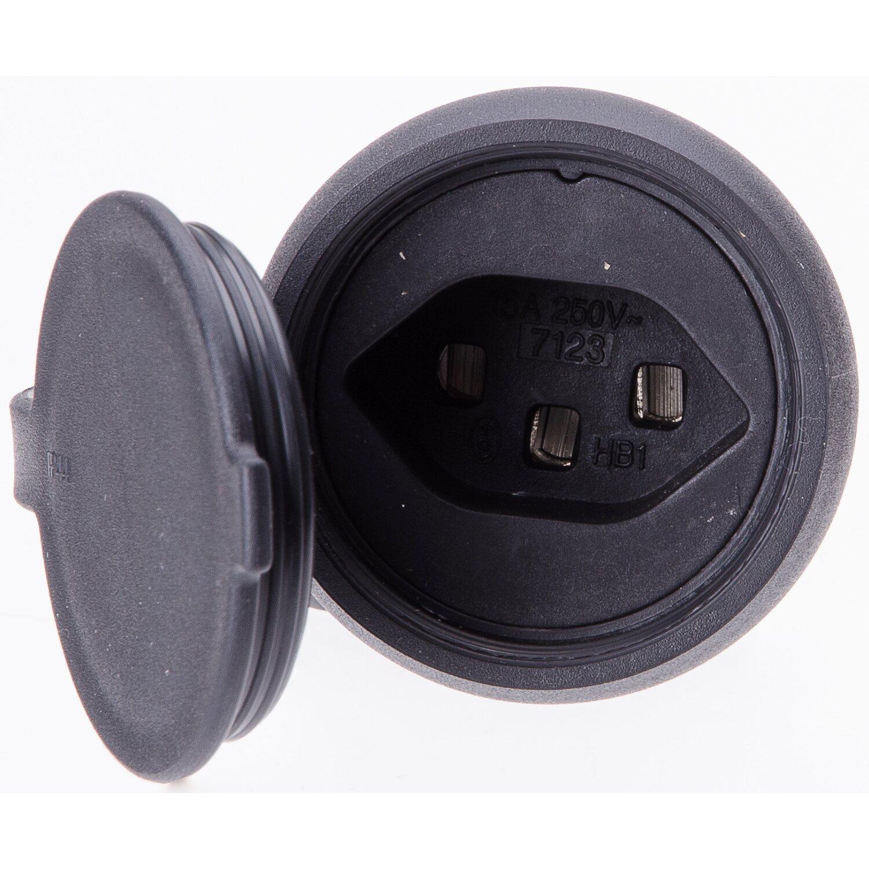 gummikupplung typ 23 3 polig schwarz ip44 kaufen bei obi. Black Bedroom Furniture Sets. Home Design Ideas