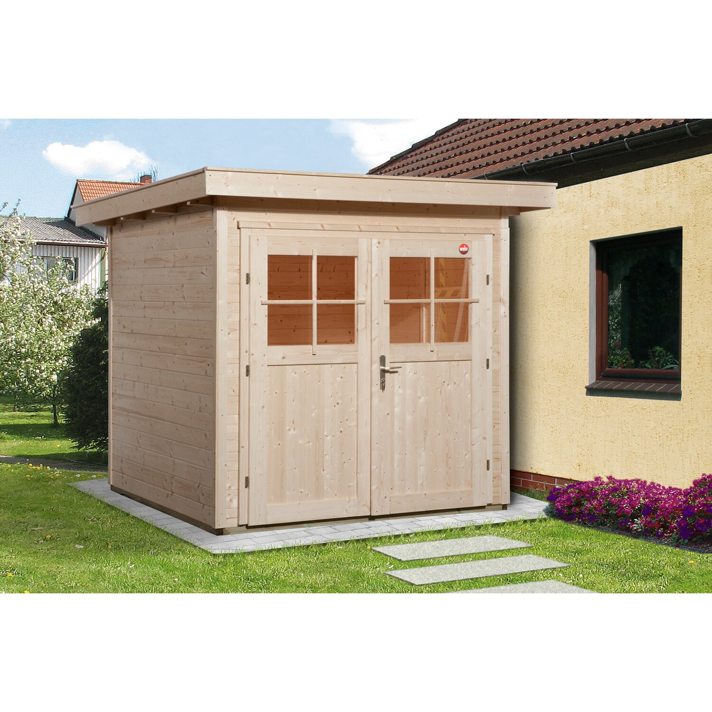 weka gartenhaus 227 gr 1 natur kaufen bei obi. Black Bedroom Furniture Sets. Home Design Ideas