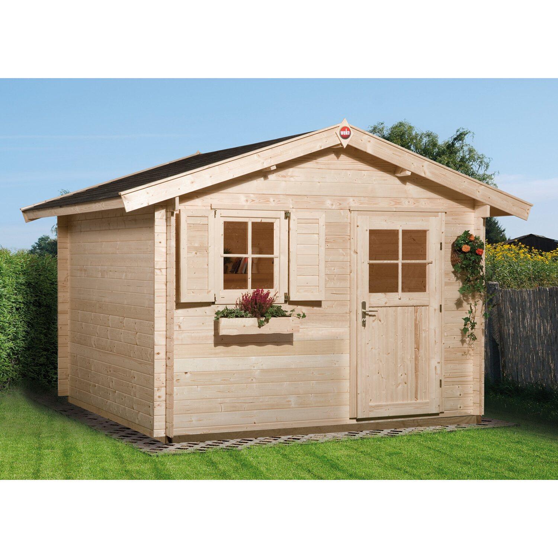 weka gartenhaus premium 28 ft gr 2 natur kaufen bei obi. Black Bedroom Furniture Sets. Home Design Ideas