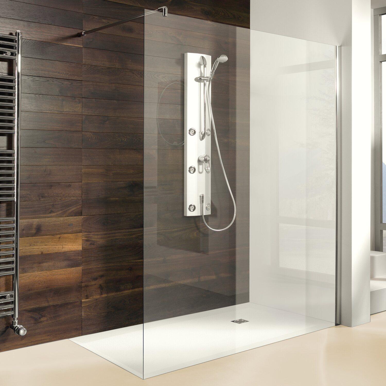 breuer entra seitenwand alleinstehend mit 90. Black Bedroom Furniture Sets. Home Design Ideas