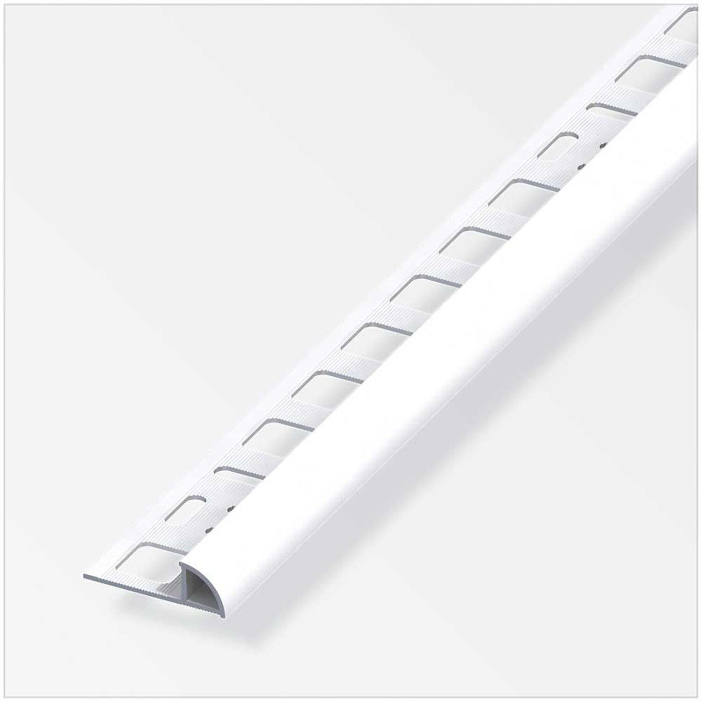 13+ Viertelkreis Profil Aluminium Brillant Weiss HxBxT 8,8 x 8 x 858 ... Bilder