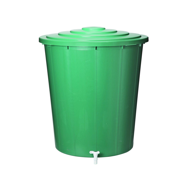 regentonne 300 l grün 850 mm x 800 mm x 800 mm kaufen bei obi