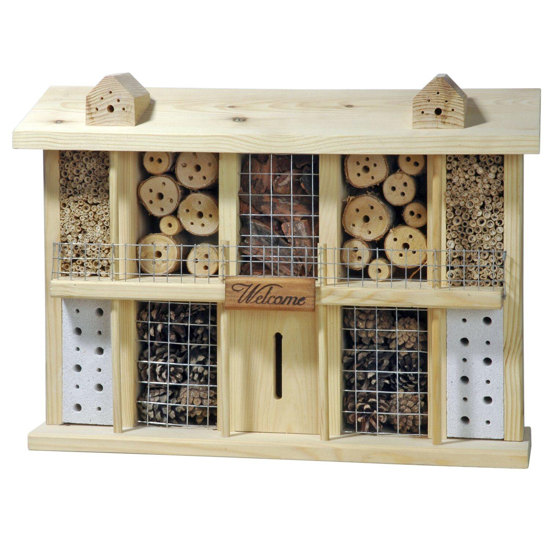 insektenhotel kaufen bei obi. Black Bedroom Furniture Sets. Home Design Ideas