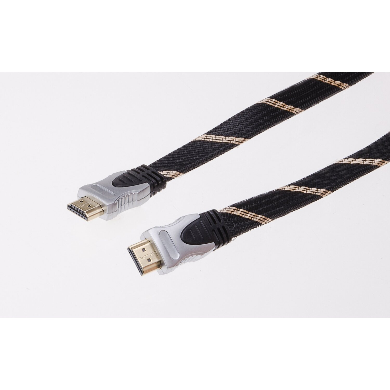 schwaiger hdmi kabel gewebe high speed 1 5 m kaufen bei obi. Black Bedroom Furniture Sets. Home Design Ideas