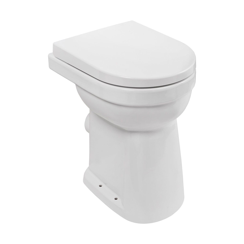 aquasu stand wc set lidano 10 cm weiss kaufen bei obi. Black Bedroom Furniture Sets. Home Design Ideas