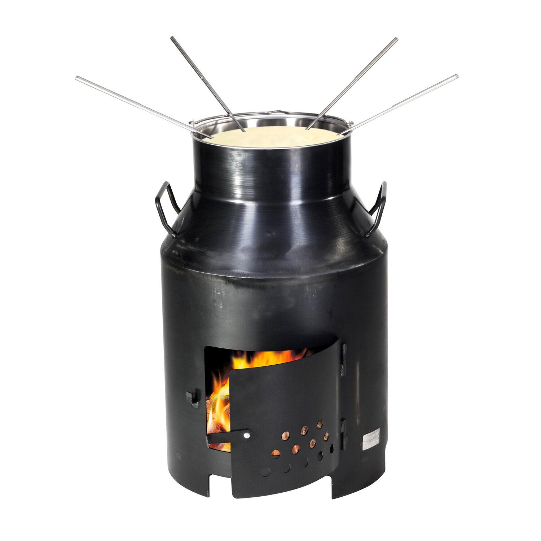 nouvel fondue und grillofen milchbotte schwarz kaufen bei obi. Black Bedroom Furniture Sets. Home Design Ideas