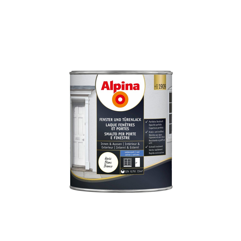 alpina fenster und t renlack seidenmatt 750 ml kaufen bei obi. Black Bedroom Furniture Sets. Home Design Ideas