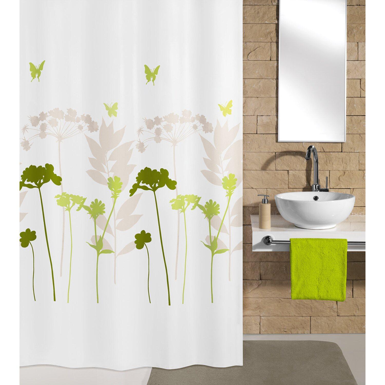 kleine wolke duschvorhang barcelona 200 cm x 180 cm gr n. Black Bedroom Furniture Sets. Home Design Ideas