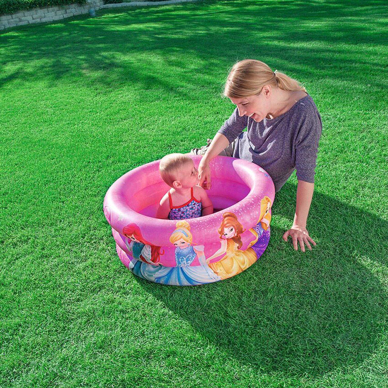 Planschbecken baby pool disney princess 70 cm x 30 cm for Planschbecken obi