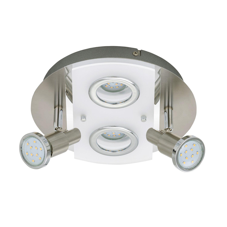 Briloner LED Deckenleuchte 4-flammig 3W