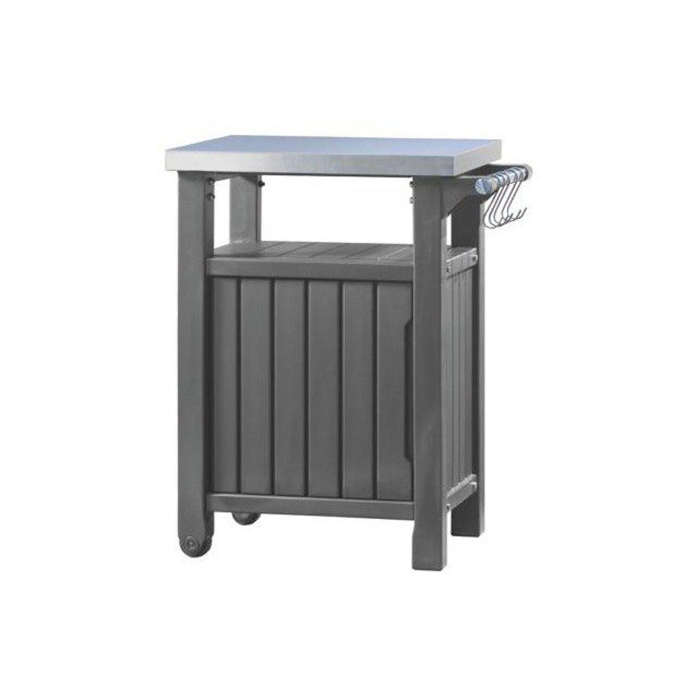 keter beistelltisch bbq anthrazit kaufen bei obi. Black Bedroom Furniture Sets. Home Design Ideas