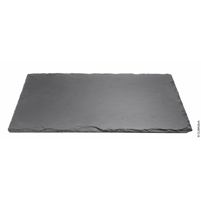 Climaqua schiefer tischset rechteckig 6 mm x 300 mm x 400 for Planschbecken rechteckig obi