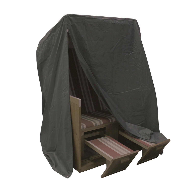 acamp schutzh lle strandkorb anthrazit kaufen bei obi. Black Bedroom Furniture Sets. Home Design Ideas