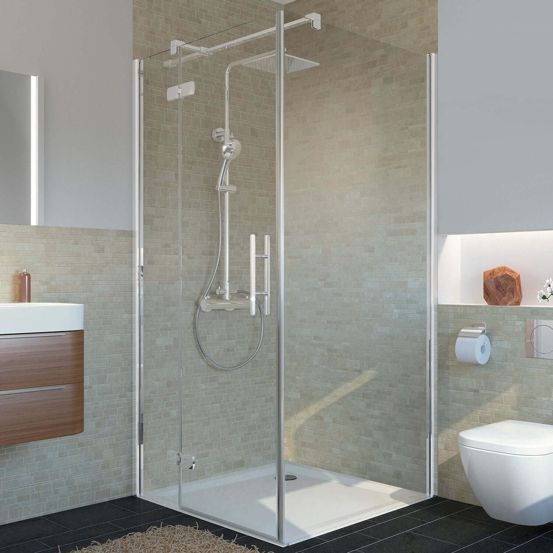 breuer duschwelten seitenwand f r dreht r mk920 kaufen bei obi. Black Bedroom Furniture Sets. Home Design Ideas