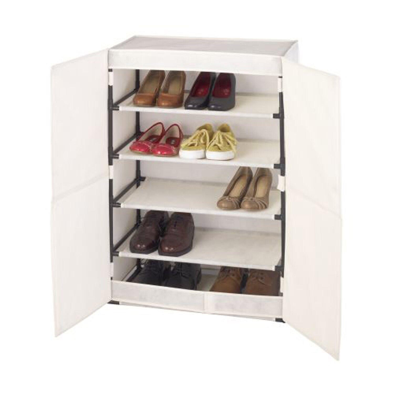 wenko schuhschrank butterfly beige 90 cm x 61 cm x 32 cm kaufen bei obi. Black Bedroom Furniture Sets. Home Design Ideas