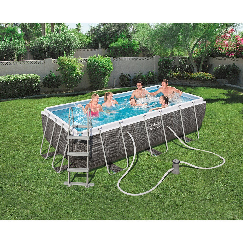 Schwimmbecken Rechteckig Kaufen Bei Obi