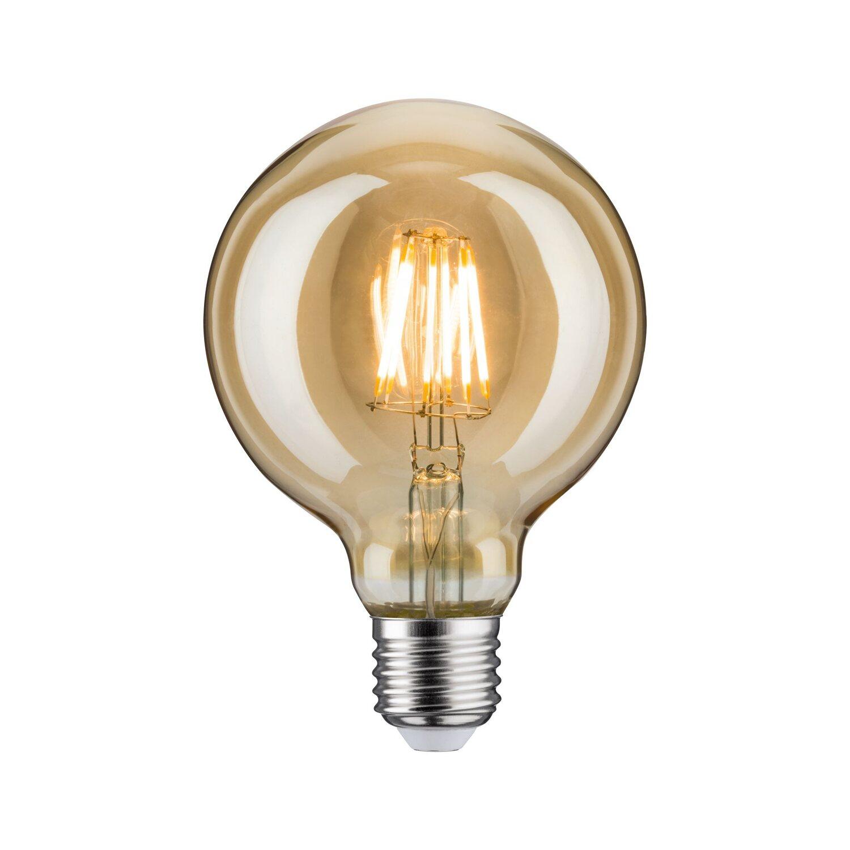 Paulmann LED Leuchtmittel Vintage Globe 95 / E27 Gold Goldlicht 6 W kaufen bei OBI