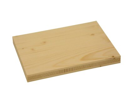 Massivholzplatte 3 Schicht Fichte B C Fsc 27 Mm Kaufen Bei Obi