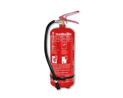Sehr GEV Feuerlöscher 6 kg Pulver Brandklasse A, B, C kaufen bei OBI PB13