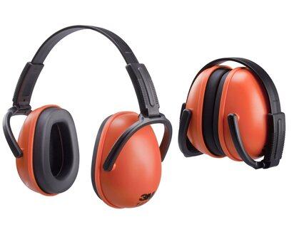 hakenfähig orange Kapselgehörschutz 3M 1436 SNR 28dB faltbar