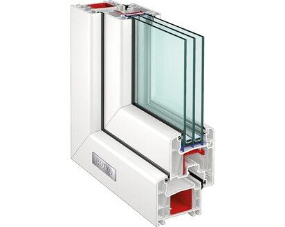Energiespar Fenster Aus Kunststoff Ug 0 6 Kaufen Bei Obi