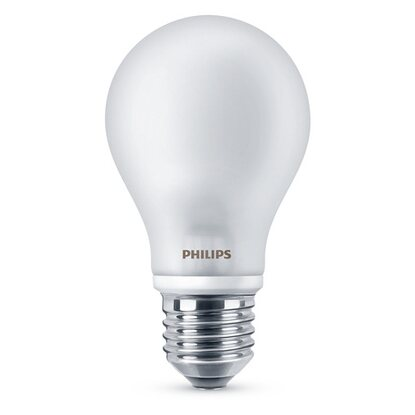 Philips LED-Leuchtmittel EEK: A++ Classic 60 W / A60 / E27 Warmweiss FR ND / 4