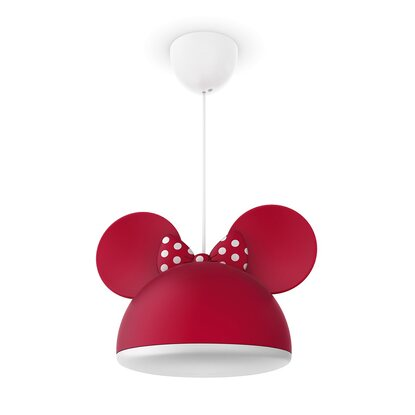 Philips Disney LED-Pendelleuchte Minnie Maus Rot 15 W