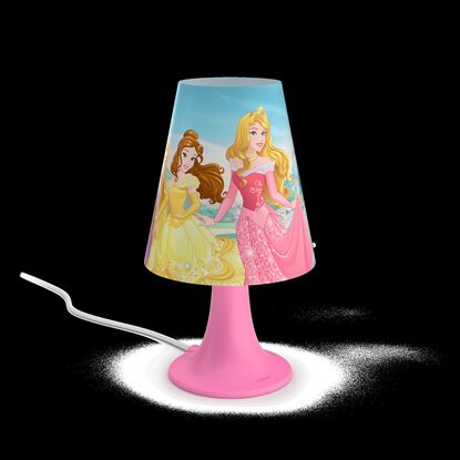 Philips Disney LED-Tischleuchte Princess Pink 2,3 W