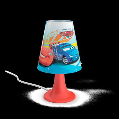 Philips Disney LED-Tischleuchte Cars Rot 2,3 W
