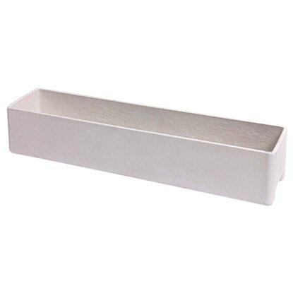 eternit blumenkasten balconia 80 cm x 17 cm x 17 cm 18 4l grau kaufen bei obi. Black Bedroom Furniture Sets. Home Design Ideas