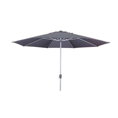 Doppler Sonnenschirm Active 380 Cm Kurbel Anthrazit Kaufen Bei Obi