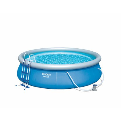 Bestway fast set pool kaufen bei obi for Pool obi baumarkt