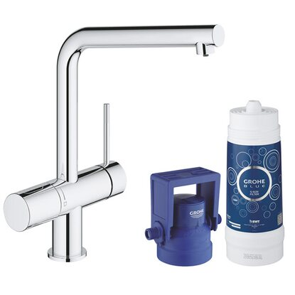 Grohe Blue Minta Pure Starter Kit Chrom