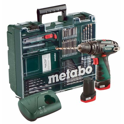 Metabo Akku-Schlagbohrmaschine PowerMaxx SB Basic Set