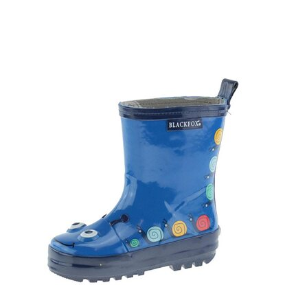Blackfox Kinderstiefel Botte Escargot Blau Gr. 29
