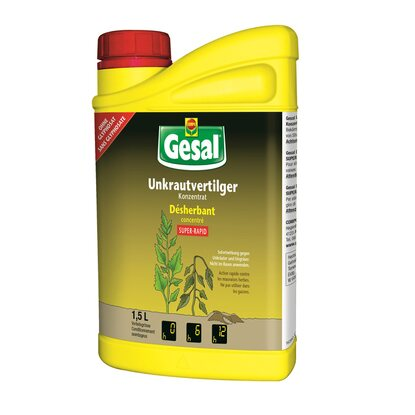 Gesal Unkrautvertilger Super-Rapid 1,5 l