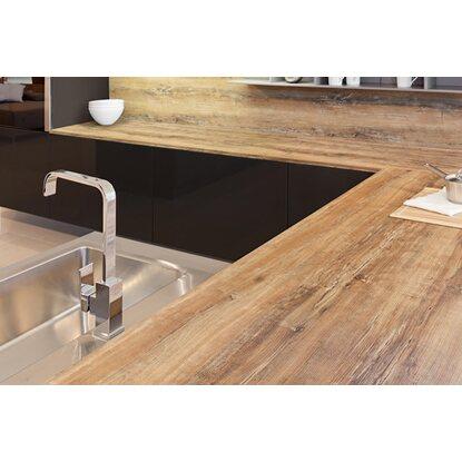 arbeitsplatte arizona pine 4 39 100 mm x 635 mm x 28 mm kaufen bei obi. Black Bedroom Furniture Sets. Home Design Ideas