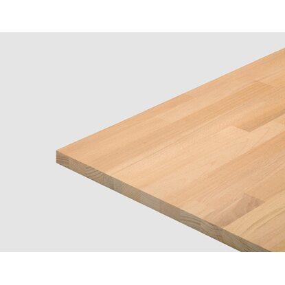 Massivholzplatte 300 Cm X 60 Cm X 4 Cm Buche Kaufen Bei Obi