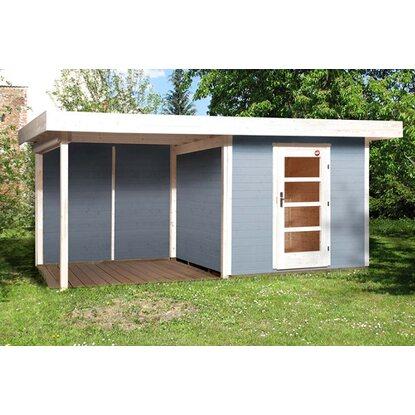 weka designhaus 172 b gr 1 grau et anbau 295 cm ohne rw. Black Bedroom Furniture Sets. Home Design Ideas