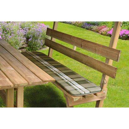 weka sitzauflagen f r sitzlaube 662 grau kaufen bei obi. Black Bedroom Furniture Sets. Home Design Ideas