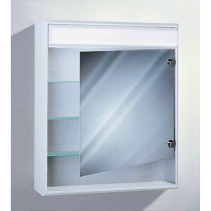 Sidler Badezimmer Spiegelschrank Econom 60 cm Weiss kaufen bei OBI