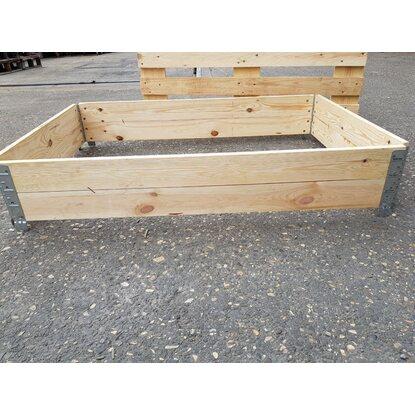 aufsatzrahmen f r europaletten hochbeetstecksystem kaufen bei obi. Black Bedroom Furniture Sets. Home Design Ideas