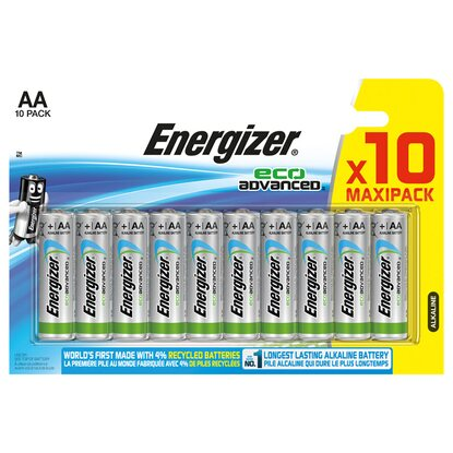 Energizer EcoAdvanced AA 10er-Blister