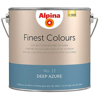 Alpina Finest Colours Deep Azure 2,5 l