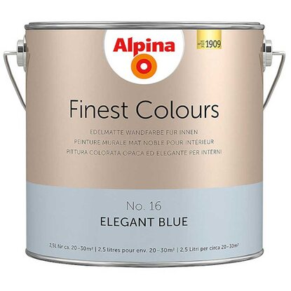 Alpina Finest Colours Elegant Blue 2,5 l