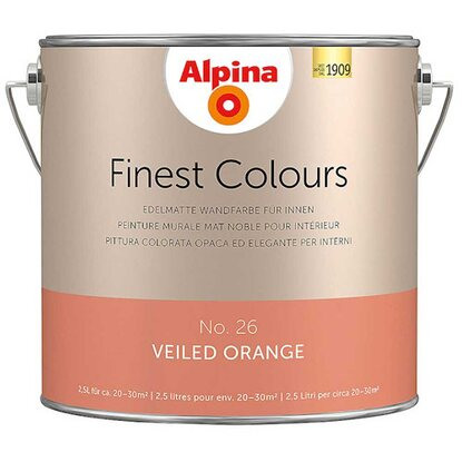 Alpina Finest Colours Veiled Orange 2,5 l
