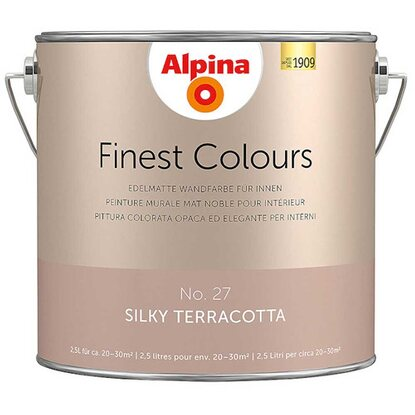 Alpina Finest Colours Silky Terracotta 2,5 l