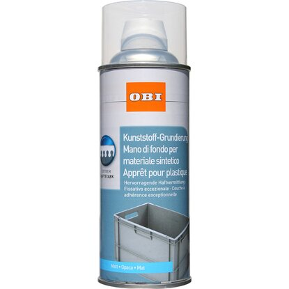 OBI Kunststoff-Grundierung Spray Transparent matt 400 ml
