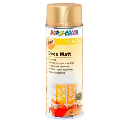 Dupli-Color Lackspray Deco matt Goldbronze 400 ml