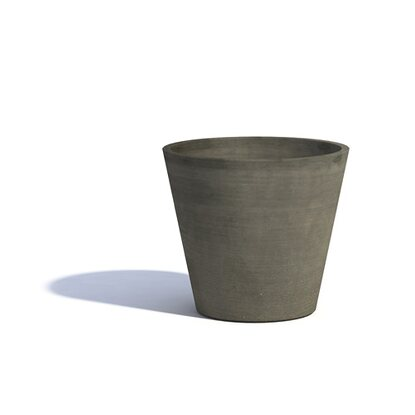Ecopot Pflanzgefäss Amsterdam 40 cm Scratched Taupe